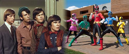 Monkees vs. Power Rangers
