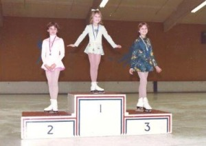 This is my second competition. I rocked it. And Teri? She's in second place.