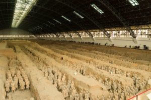 The amazing Terracotta Warriors.
